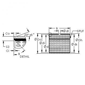 AST AST20 18050 plain bearings