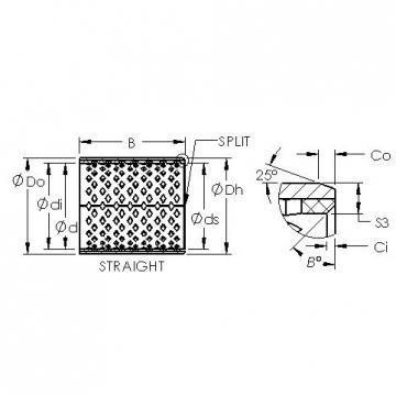 AST AST090 1215 plain bearings