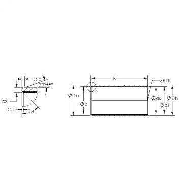 AST AST850BM 14080 plain bearings