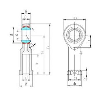 LS SIBP5S plain bearings