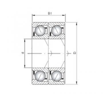 ISO 7002 BDT angular contact ball bearings